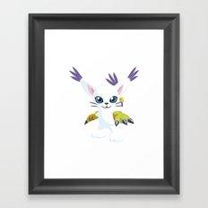 DIGIMON - Gatomon Framed Art Print