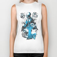 tomb raider Biker Tanks featuring Tomb by Tshirt-Factory
