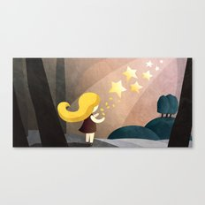 The Star Money  Canvas Print