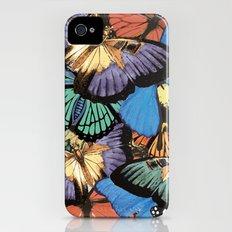 Butterflies Slim Case iPhone (4, 4s)