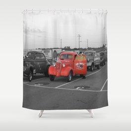 N & O Boyz Shower Curtain