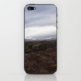 Continental drift - Thingvellir National Park iPhone Skin