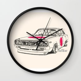 Crazy Car Art 0166 Wall Clock