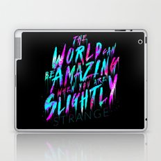 Slightly Strange Laptop & iPad Skin