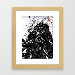 Fall in Love Framed Art Print