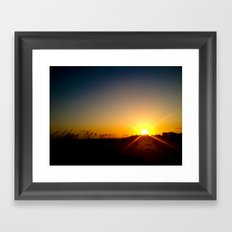 That Kind Of Night Framed Art Print
