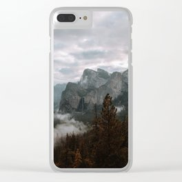 TUNNEL VIEW II Clear iPhone Case