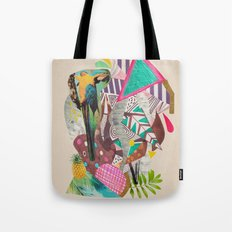 TROPICANA MACAW  Tote Bag