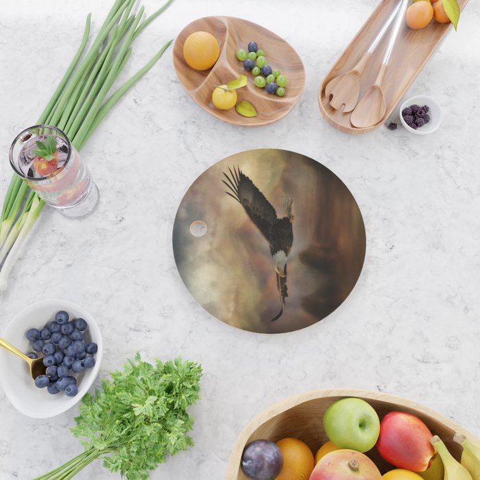 Eagle Flying Free Cutting Board