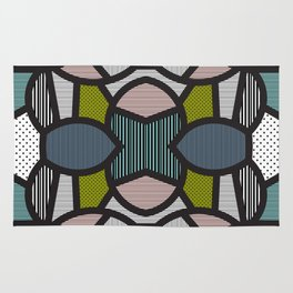 Pop Art Tiles Rug