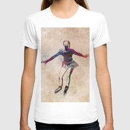 figure skating #skating #figureskating #sport T-shirt