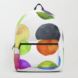 Watercolor circles Backpack