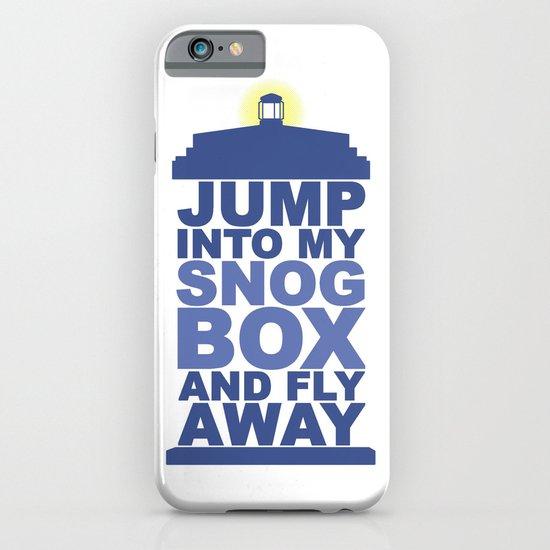Snog Box (Tardis) iPhone & iPod Case