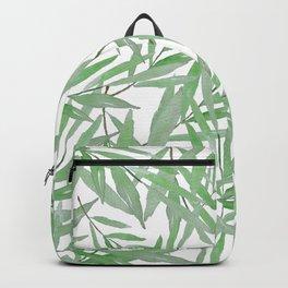 leave pattern Backpack