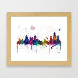 Bostonian Skyline MCLR 1 Framed Art Print