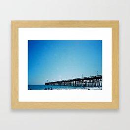 The Pier 02 Framed Art Print