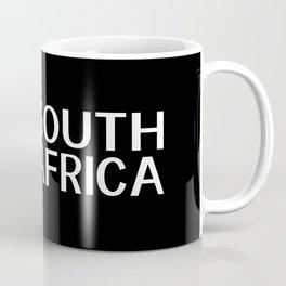 South Africa: South African Flag & South Africa Coffee Mug