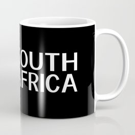 South Africa: South African Flag & South Africa Coffee Mug