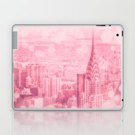 Pink and Bubbly New York City Laptop & iPad Skin