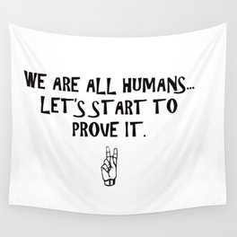 Humans Wall Tapestry