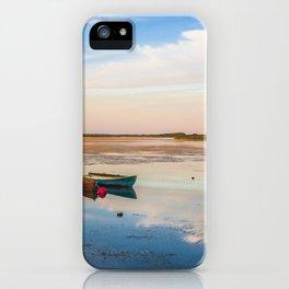 Magic sunset iPhone Case
