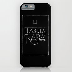 Tabula Rasa (black) Slim Case iPhone 6s