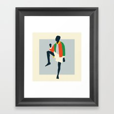 Fashion Dance 1 Framed Art Print