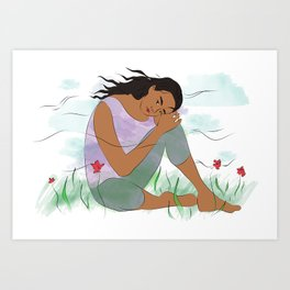 Spring is Coming, You will Bloom Art Print