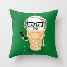 Ice Cream Coneover (Holiday Edition) Throw Pillow