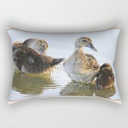 Hanging With The Buds Rectangular Pillow