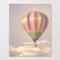 Magical pink balloon Canvas Print