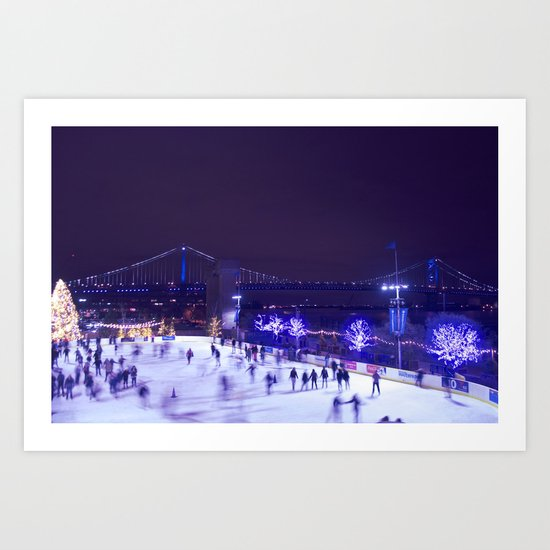 Winter Moments Art Print