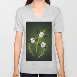 Honduran White Bat Unisex V-Neck
