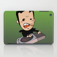 dj iPad Cases featuring DJ by Grime Lab