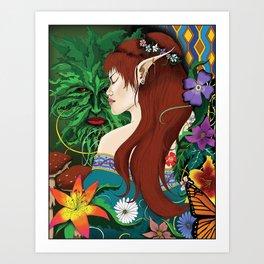Fae Folk Art Print