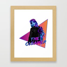 Kenny Omega polygonal Framed Art Print
