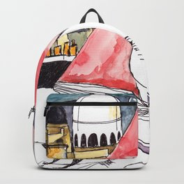 Birds Journals Paris Backpack