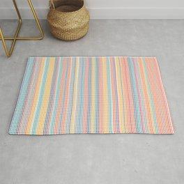 Color grid Rug