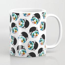 Ga Ga Cat Head Coffee Mug