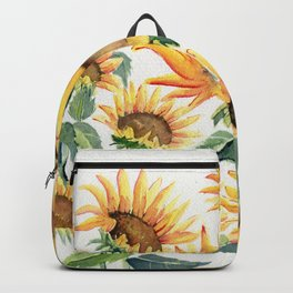 Sunflowers Love Backpack