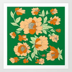 Multi Floral Art Print