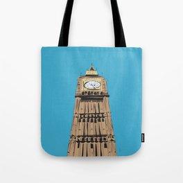 London Big Ben Tote Bag