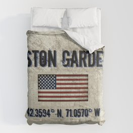 Remembering the Old Boston Garden Comforters