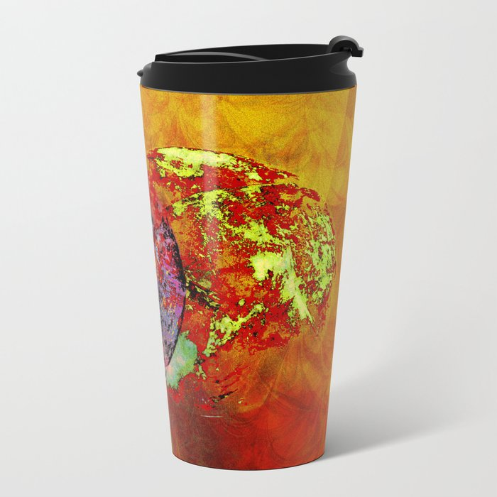 old map of a foreign world far away Travel Mug