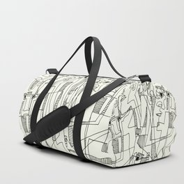 Conversation Duffle Bag