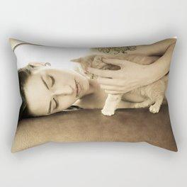Kitten Love Rectangular Pillow