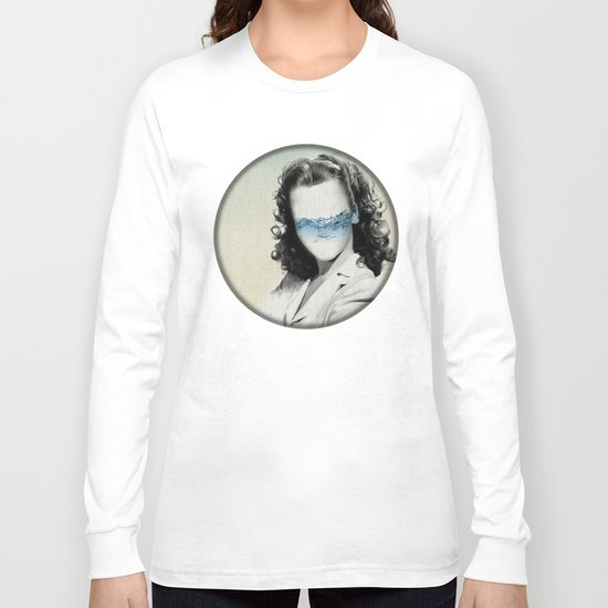 the glass half full Long Sleeve T-shirt
