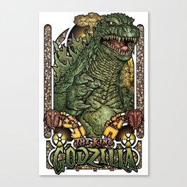 Fear the King! Canvas Print
