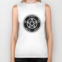 pentagram Biker Tanks featuring Pentagram by Urban Monk Store