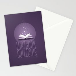 Lorebook Collector Stationery Cards